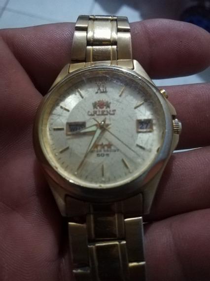 Relógio De Pulso Orient Original Dourado