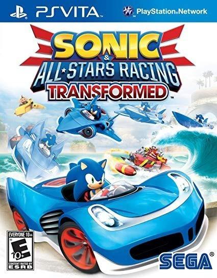 Sonic & All Stars Racing Transformed Ps Vita - Seminovo