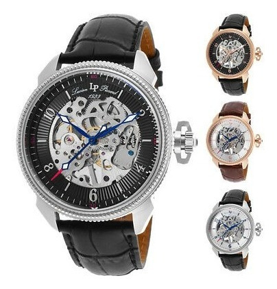 Reloj Para Hombre Lucien Piccard Trevi Mechanical - Elija C
