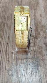 Relógio Atlantis Feminino Dourado Original