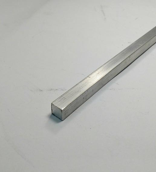 Vergalhao Quadrado Aluminio 5/16 (7,93mm) C/ 99cm 10pçs