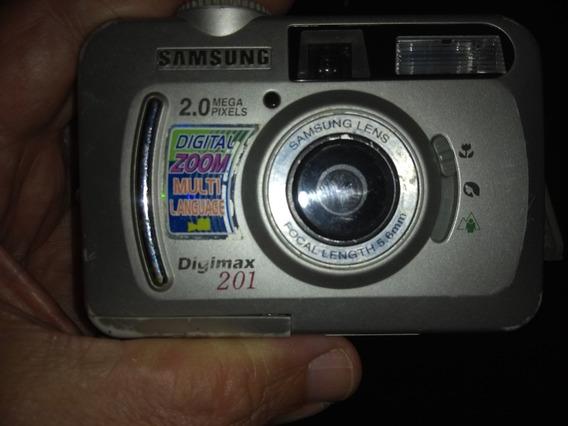 Câmera Samsung Digimax 2.01