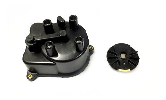 Kit Tampa + Rotor Do Distribuidor Honda Civic 1.5 1.6