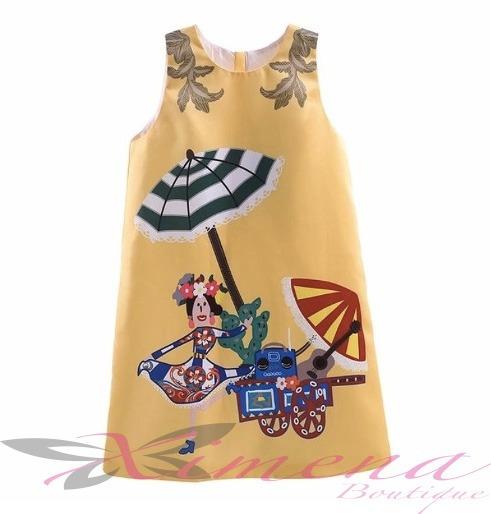 Vestido De Fiesta - Importado-de Niña Ximena Boutique