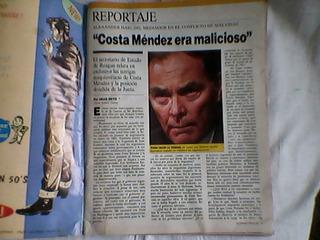 Lote X 10 Revistas Guerra De Malvinas/ Muy Buen Estado
