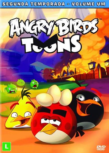 Dvd Angry Birds Toons 2º Temporada Vol. 1