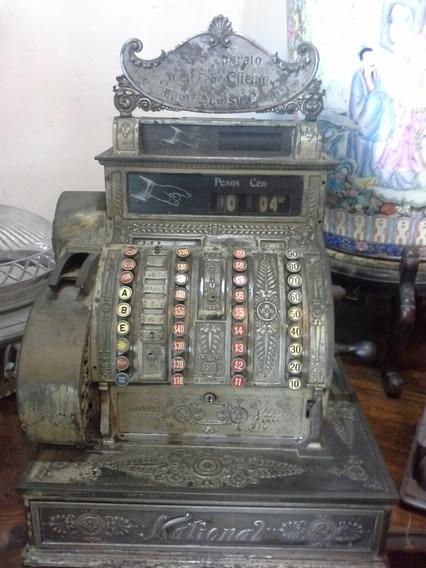 Maquina Registradora Antigua Marca National