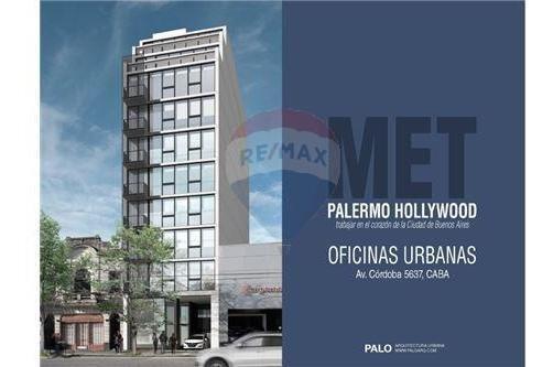 Venta Oficina Palermo 82 M2 A Estrenar.