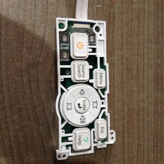 Placa Painel Projetor Epson Power Lite 79 Cabo Flat E Botões