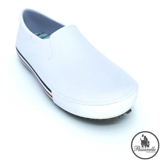 Sapato Unissex Profissional Impermeável Softworks - Branco