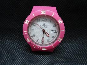Relógio Champion Walt Usado Funcionando Muto Bem