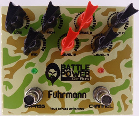 Pedal Overdrive/distortion - Battle Power De Ros - Fuhrmann