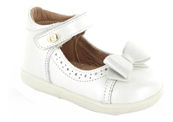 Zapatilla Para Niña Con Velcro Coqueta Panky Perla T11-14