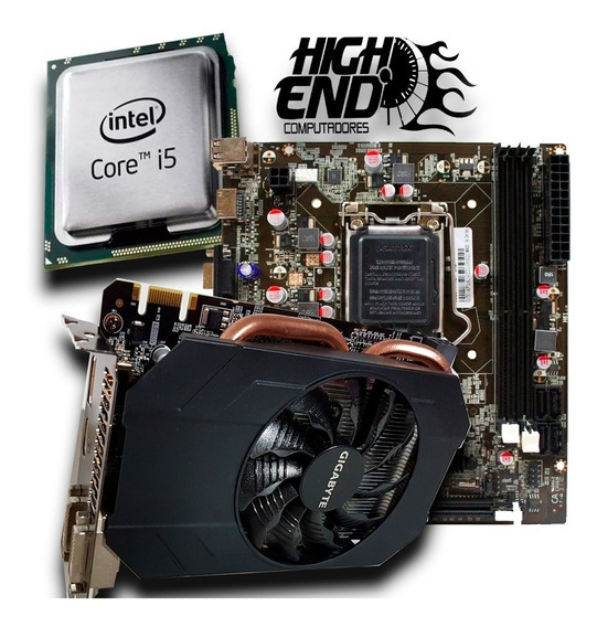 Kit Upgrade I5 3470 Gtx 960 2 Gb Placa Mae H61 Top Roda Tudo