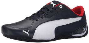 Tenis Puma Bmw Ms Drift Cat 5 Fashion Sneaker Azul Vermelho