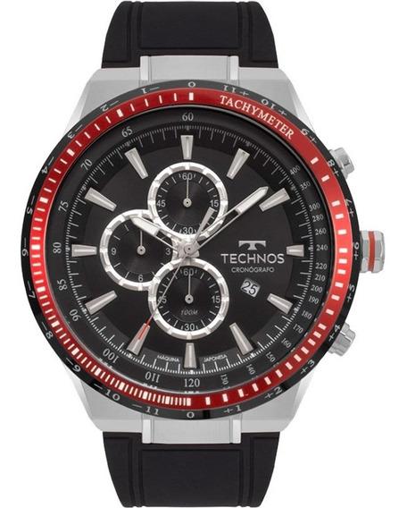Relógio Technos Masculino Cronógrafo Original C/nf Os10fb/8p