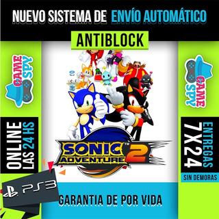 Sonic Adventure 3 Ps3 - Videojuegos en Mercado Libre Argentina