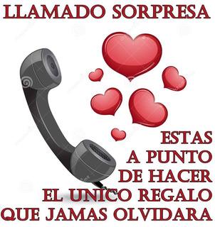 Agasajo Romantico Por Telefono Personalizada Ver Demo
