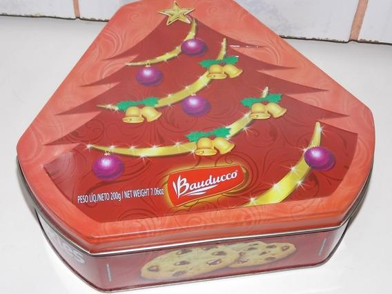 Lata Decorativa Colecionável Cookies Bauducco - Vazia