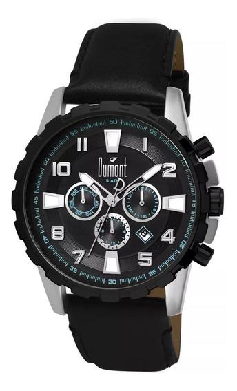 Relógio Masculino Dumont Traveller Dujp25cag/0p, C/ Garantia