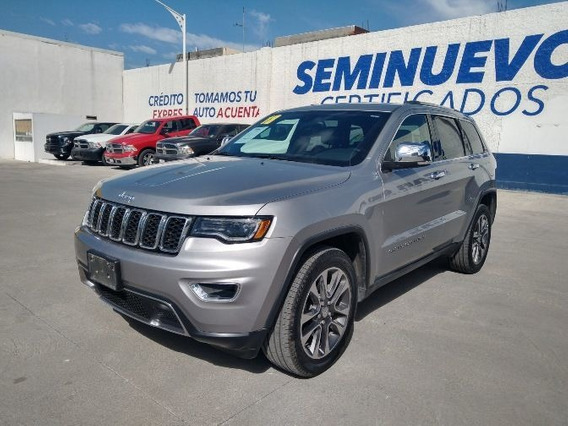 Jeep Grand Cherokee 2018 3.6 V6 Limited Lujo 4x2 At