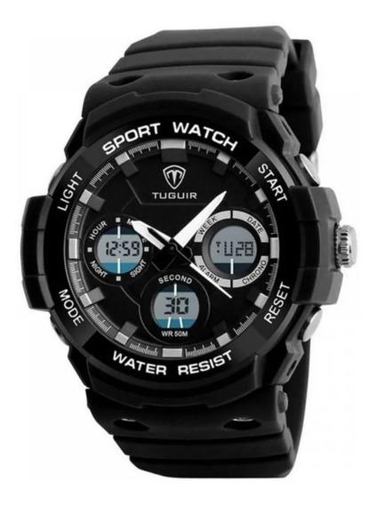 Relógio De Pulso Premium Tuguir Original Digital Oferta