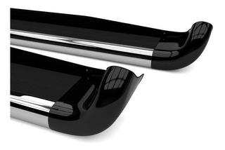 Estribo Personalizado Preto Fosco S10 Cd 2012/