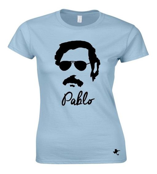 Playera Series Tv Pablo Escobar Mod. 14 Tigre Texano Designs
