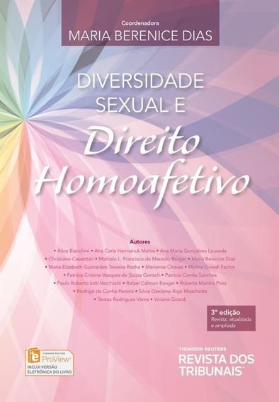 Diversidade Sexual E Direito Homoafetivo - 3ª Ed. 2017