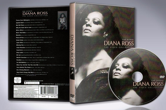 Dvd Diana Ross - One Woman The Video Collection