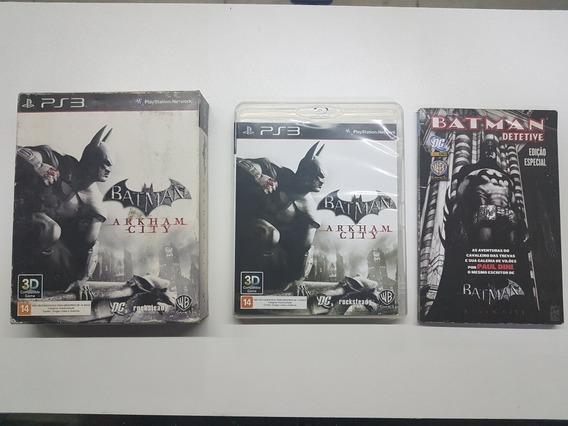 Batman Arkham City Mídia Física Original Para Playstation 3