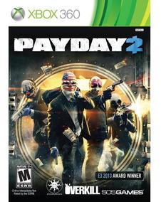 Payday 2 - Xbox 360 - Novo - Midia Fisica