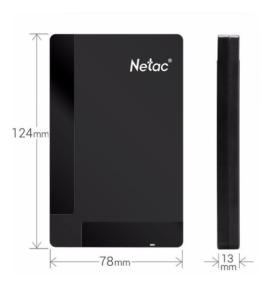 Hd Externo Netac K218 De 1 Tb 500 Gb Usb 3.0 ( Imperdivel )