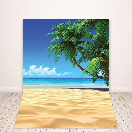 Fundo Fotográfico Praia/verão