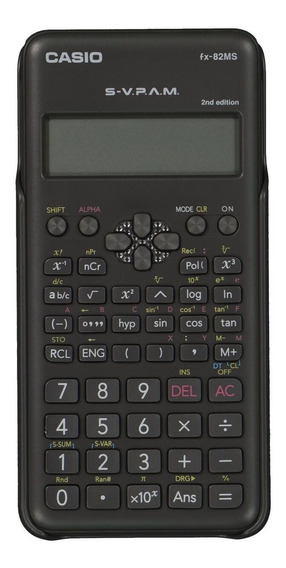 Calculadora Científica Casio 2nd Edition - Svpam - Fx-82ms