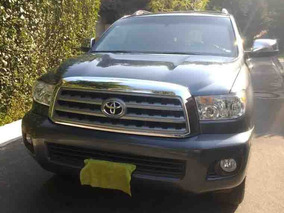 Toyota Sequoia Blindada Premium Aa R-20 Piel Qc Dvd At