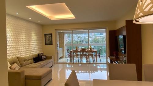 Maravilhoso Apartamento 4 Quartos Com Vista Para O Lazer