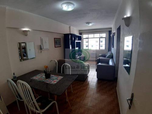 Apartamento 50 Metros Da Praia Com 2 Dormitórios Para Alugar, - José Menino - Santos/sp - Ap6603