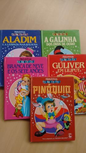 5 Livros Infantis Historinhas Animadas Ed Nova Cultural 386e