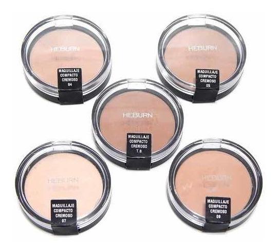 Heburn Profesional Maquillaje Compacto Cremoso 385 Cubritivo