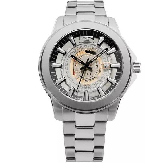 Relógio Masculino Technos Analógico Swiss Parts F06111ab/1w