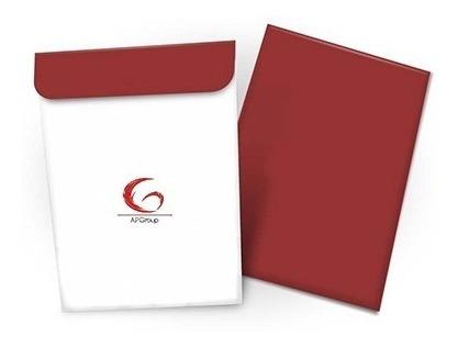 1000 Envelopes Saco Coloridos Personalizados