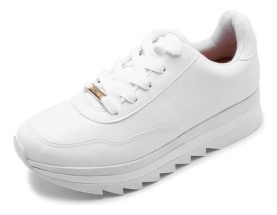 Zapatillas Blancas Deportiva Mujer Vizzano*