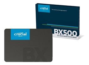 Ssd Crucial Bx500 480gb Sata Leitura 540mb/s Gravação 500mb