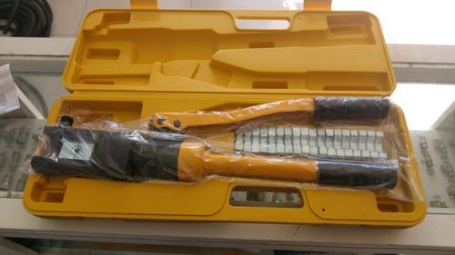 Imagem 1 de 3 de Alicate De Compressão Hidráulico 16 A 240 Mm