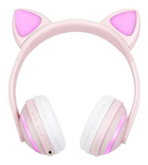 Fone de ouvido inalámbricos Exbom HF-C240BT rosa