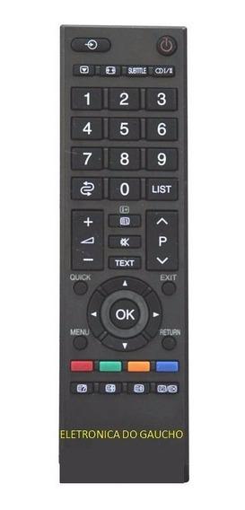 Controle Toshiba Similar 24p1300/29p/32pct-90326/90325/90336
