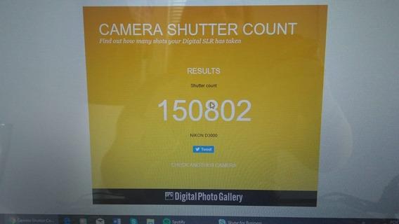 Nikon D3000 +lente 18-55mm