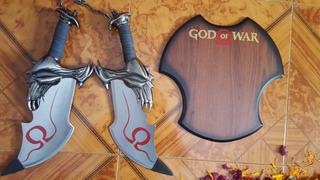 Espadas De Kratos De God Of War Espada Del Caos Con Base