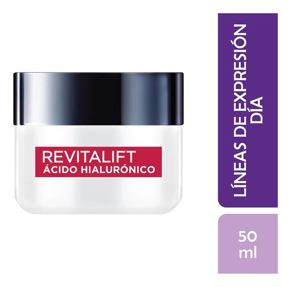 Crema Anti Arrugas Revitalift Ácido Hialurónico Loreal 50ml